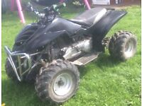 Quad / spares repairs / project / running engine
