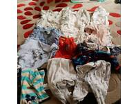 Massive bundle of boys clothes 3-6 months
