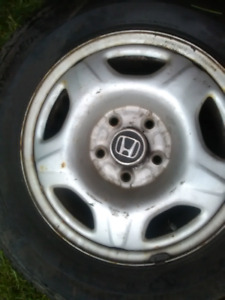 Gently used tires