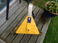 wheel clamp, fully adjustable, very strong