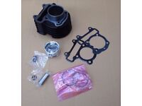 Honda SCV100 Lead 100 2003 - 2007 Cylinder Barrel Piston Kit & Gasket Set
