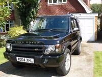 Land Rover Discovery 2004 Facelift - Black - Beautiful Condition - New 12mnth MOT - 7 Seats