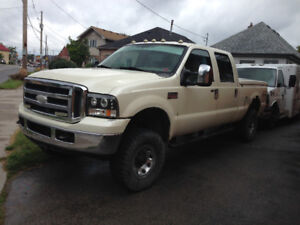 2005 F250 diesel complete truck parts available