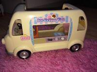 Sylvanian families ice cream van