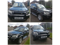 Land Rover Freelander Td4 exi low miles 2005 Black Beauty.
