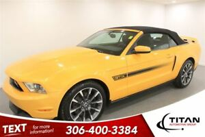 2012 Ford Mustang GT 6 Spd Manual Heated Leather Nav