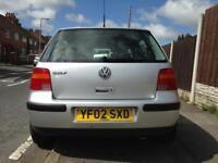 2002 Volkswagen Golf 1.4, 12 Month MOT, Low Miles, Top Spec, Etc...