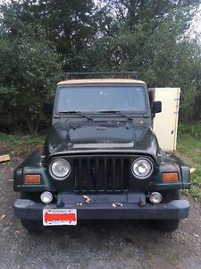 1997 Jeep TJ $1100 OBO AS IS