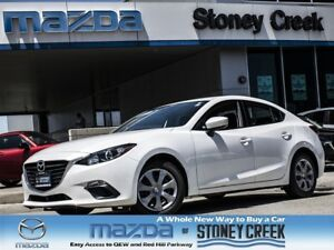 2014 Mazda MAZDA3 GX AUTO,.65% FIN,LOW KMS,B/T,A/C, 1 OWNER!!