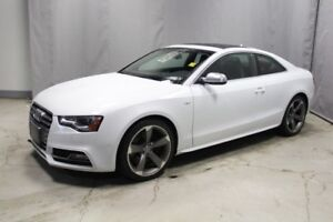 2013 Audi S5 AWD PREMIUM Leather,  Heated Seats,  Sunroof,  Bac