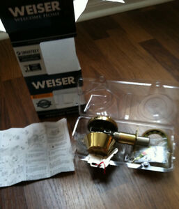 Weiser Lock Deadbolt Lock Assembly