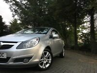 Vauxhall Corsa 1.2 i 16v SXi 3dr (LONG MOT AND GOOD SERVICE HISTORY)
