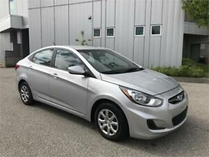 2014 HYUNDAI ACCENT SEDAN AUTOMATIC 11KM