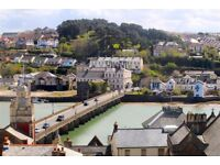2 Double Bedroom Flat in Central Bideford with Lovely Views