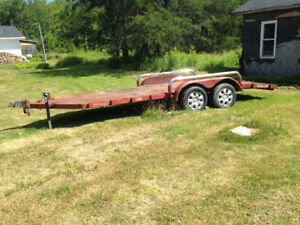 16ft Car trailer for sale or trade