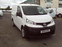 Nissan Nv200 1.5DCI SE 89ps DIESEL MANUAL WHITE (2014)