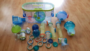 Habitrail Twist Hamster Cage and Accessories