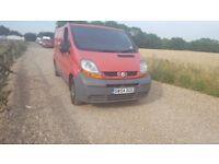 54 reg Renault traffic tidy van drives good also has new mot ideal for work and 120k mile