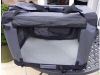 PET CARRIER - GREY UNUSED