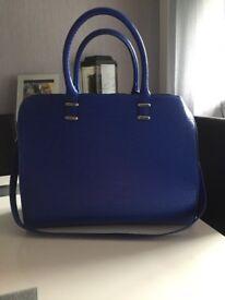 Royal blue H&M bag