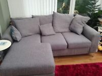 Free corner sofa for collection