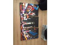 3 Piece Set of New York Canvases