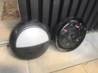 Used - Outdoor lights. Full working condition. Price for paid.
