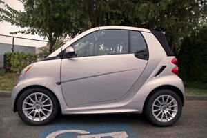 2013 Smart Fortwo Passion Coupe (2 door) convertible