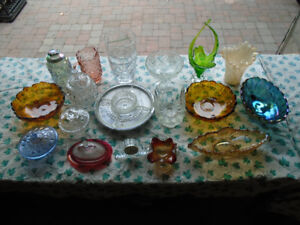 CRYSTAL, CARNIVAL.DEPRESSION,AND OTHER GLASSES - $280