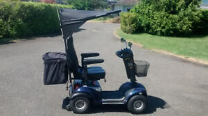 Shoprider  4 wheeled scooter for sale
