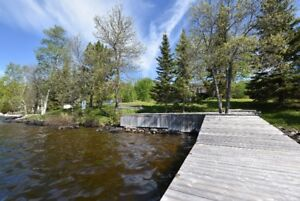 Year round home or cottage on Lac Lu west side of Kenora - REDUC