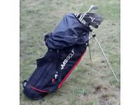 Golf Clubs & caddy bag