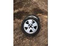 Ford Fiesta alloys 14inch 4x108 set of four
