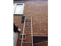 Ladders alluminium x 2 singles