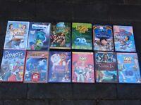 12 Childrens DVD Disney