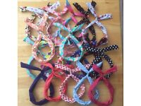 Bunny Ear Wire Headbands for Girls Adults 30 Designs Hair Bands
