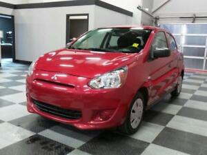 2015 Mitsubishi Mirage ES  LOW LOW payments  guaranteed approval