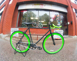 BRAND NEW Fixed Gear Bikes @ Harvester Bikes LOTS OF COLOURS!