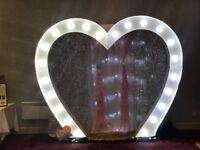 For sale 10 ft love heart arch