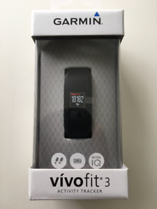 Garmin VivoFit 3 Activity Tracker - Brand new in Box Smart Watch