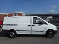 NO VAT!! Mercedes vito rare twin door!! part exchange vehicle to clear!! £995