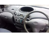 Toyota Yaris 2003 Blue 3dr Petrol 998cc Manual