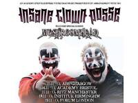 Insane clown posse & mushroomhead glasgow