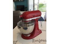 KitchenAid 150 Artisan 4.8L Stand Mixer, Empire Red