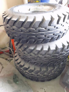 36x1250x16.5 Tires and Rims For sale