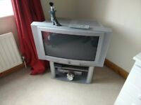 Free tv and stand to take away