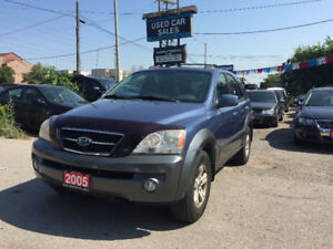 *CERTIFIED*2YRS WARRANTY*2005 Kia Sorento EX SUV, Crossover