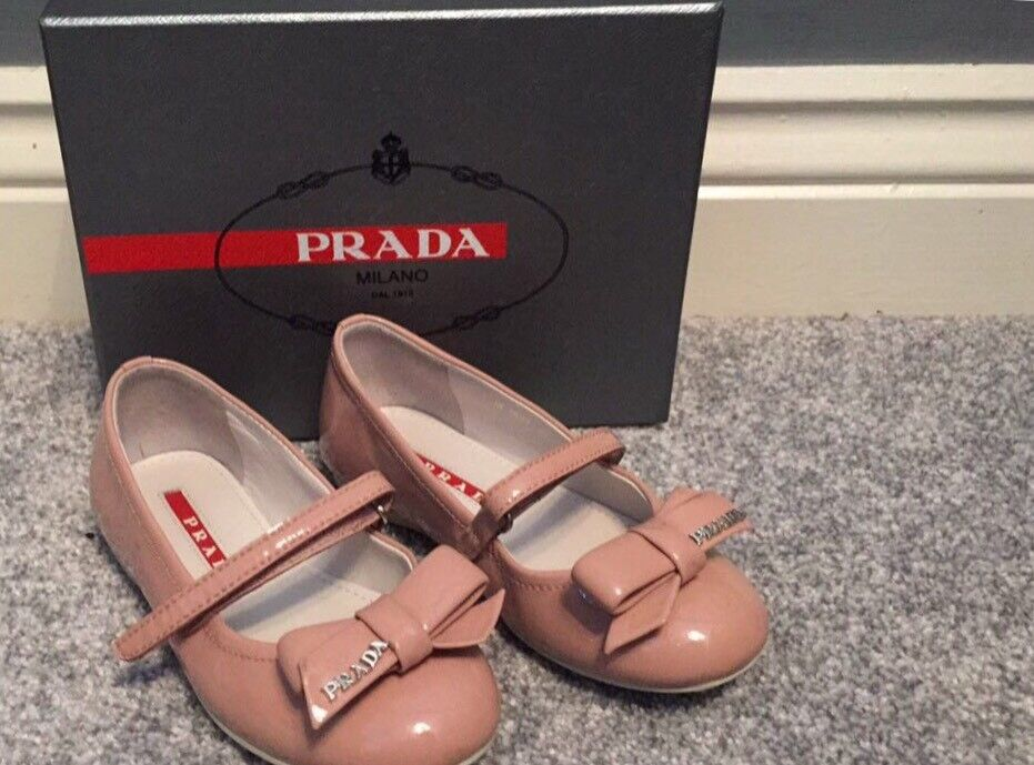 Girls shoesin SwanseaGumtree - Genuine Prada dolly shoesSize 9Excellent condition, hardly worn. Come with original boxFrom a pet and smoke free home