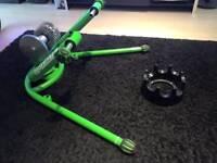 Kinetic turbo trainer