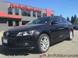 2015 Volkswagen Jetta 2.0 TDI Highline w/nav, leather, roof